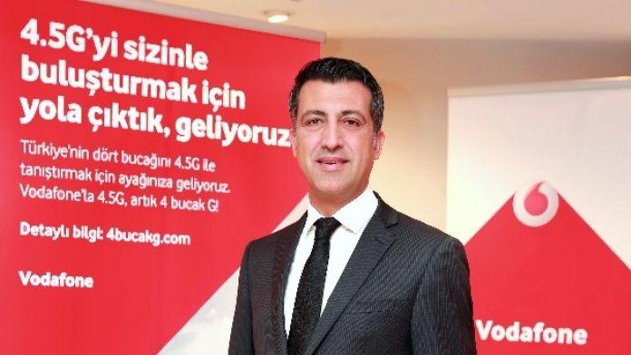 Vodafone Türkiye Ceo'su Öğüt: 'Daha İyi Bir Gelecek Mobille Mümkün Olacak'