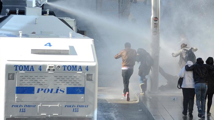 Cerattepe'ye çıkmak isteyenlere polis müdahalesi