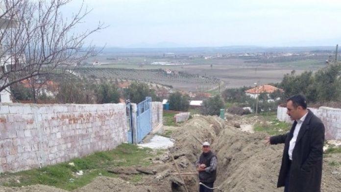 Dilek Mahallesi'nde Su Sorunu Çözülüyor