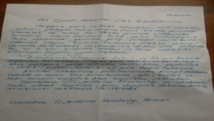 Pestil ve köme eşliğinde çatışma bölgesine mektup