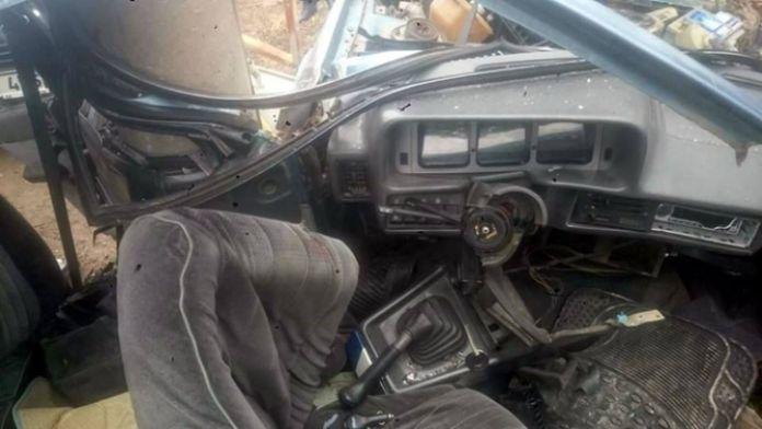 16 yaşındaki liselinin kullandığı araç ikiye bölündü!