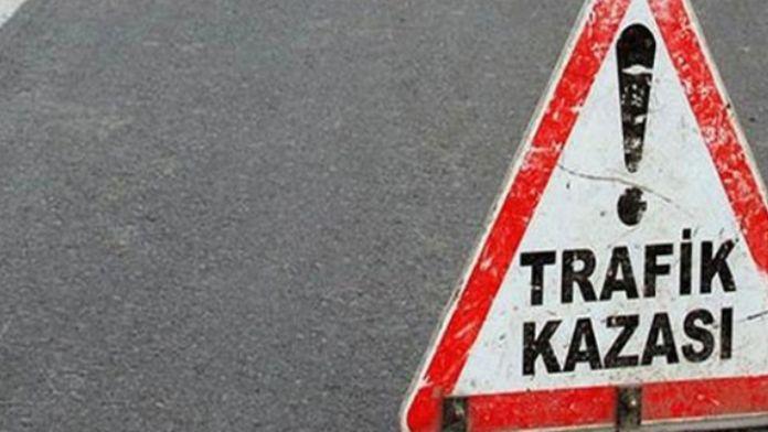 Yolcu otobüsü kaza yaptı: 23 yaralı