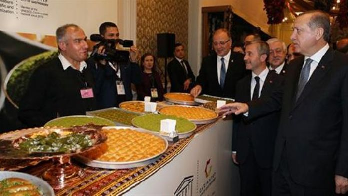 Listing of Turkish city on UNESCO gastronomy list hailed in Istanbul