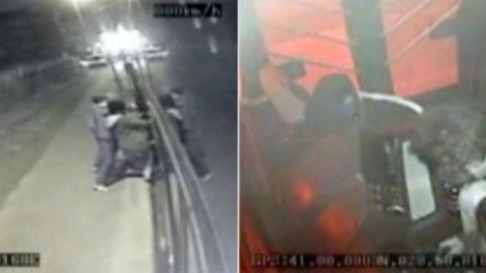 Halk otobüsünü soydular: Rahatlıkları pes dedirtti !
