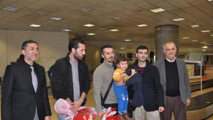 PKK'lı teröristlerce kaçırılarak serbest bırakılan AA muhabirleri İstanbul'da