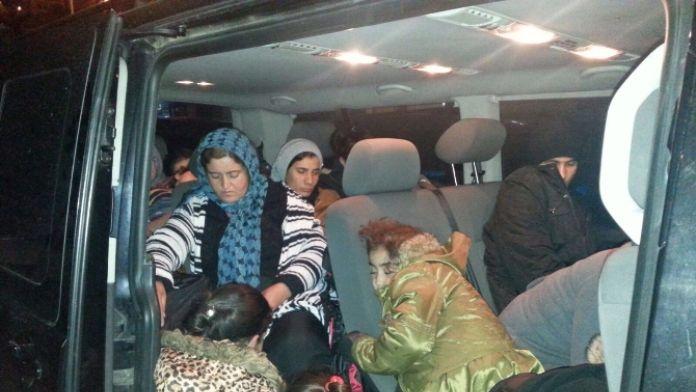 Kaçakların VIP yolculuğu da tutmadı