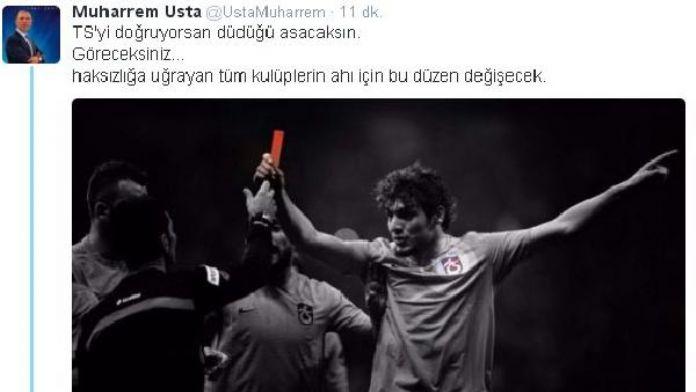 Trabzonspor Başkanı Usta: Düdüğü asacaksın!
