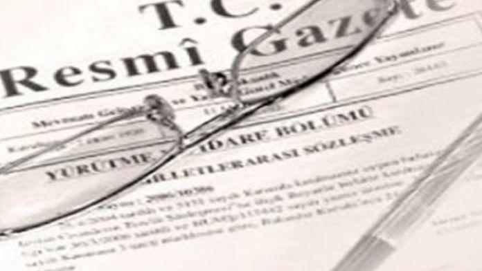 Büyükelçiler merkeze alındı karar resmi gazetede yayımlandı !