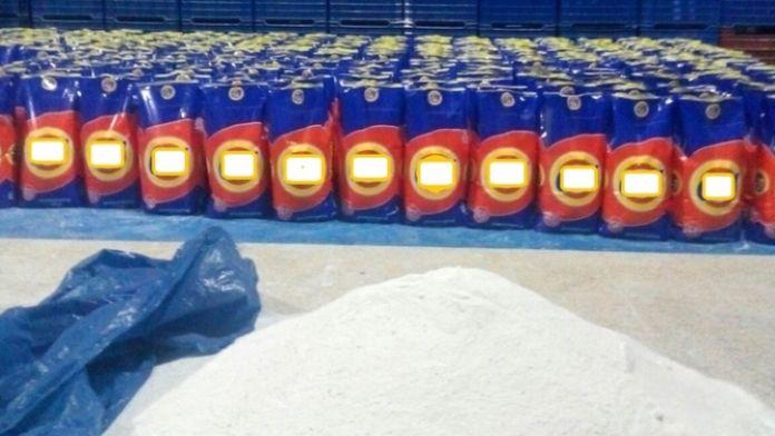Adana'da 21 ton sahte deterjan ele geçirildi