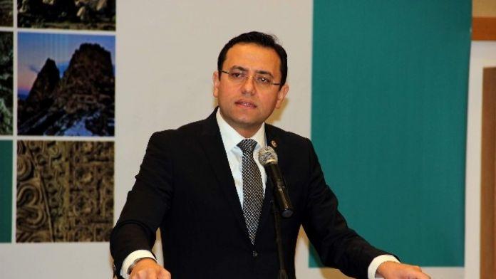 AK Parti Milletvekili Gizligider, ' İzmir-nevşehir Uçak Seferleri Başlıyor'