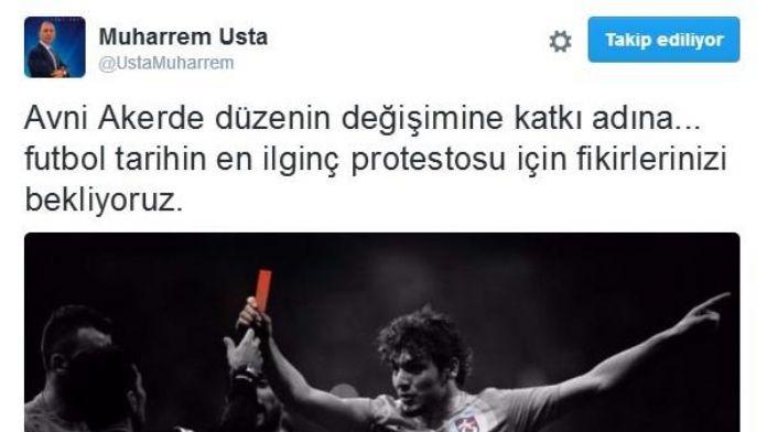 Trabzonspor Başkanı Usta'ya binlerce protesto teklifi