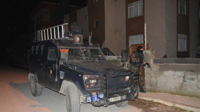 HDP'li başkanın da aralarında bulunduğu 9 kişiye gözaltı