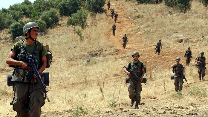 Sur'da operasyon :1 asker şehit oldu.