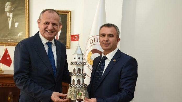 Göynük Belediye Başkanından Ziyaret