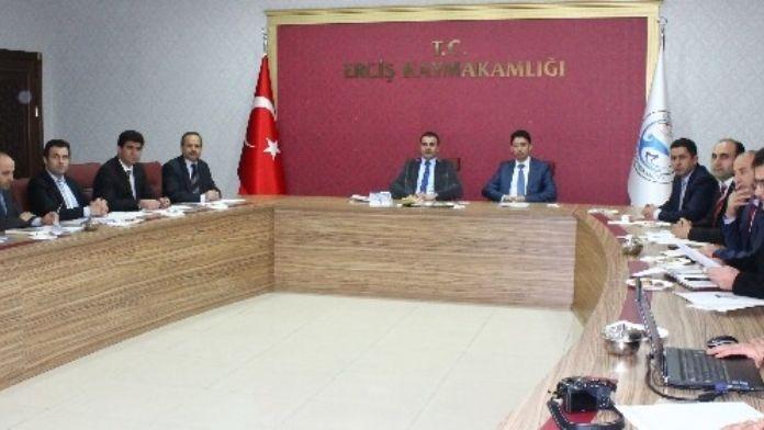 Erciş'te 5395 Sayılı Çocuk Koruma Kanunu Değerlendirme Toplantısı