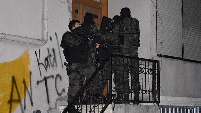 Bitlis'te terör operasyonu 4 gözaltı