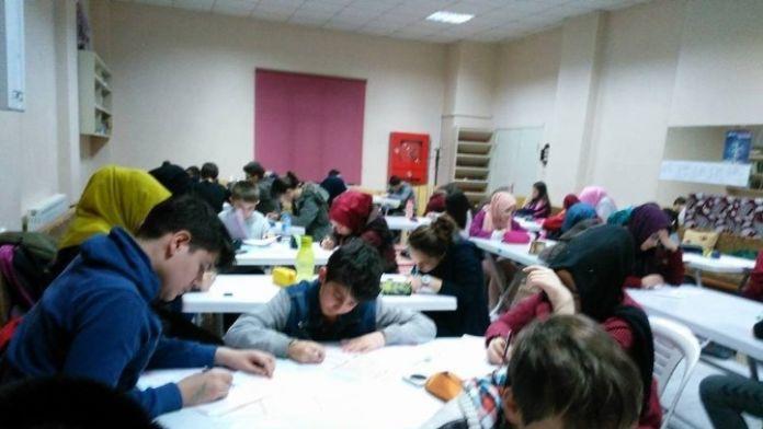 Karabük Genç Eksen 2. Dönem TEOG Deneme Sınavlarına Başladı