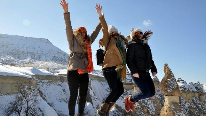 Kapadokya'da Turizmciler Turizm Eylem Paketinden Mutlu