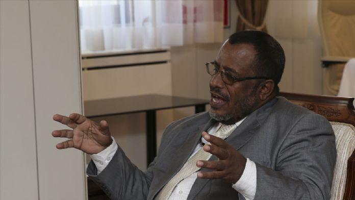 Eritre İslam Partisi heyetinden Kamalak'a ziyaret