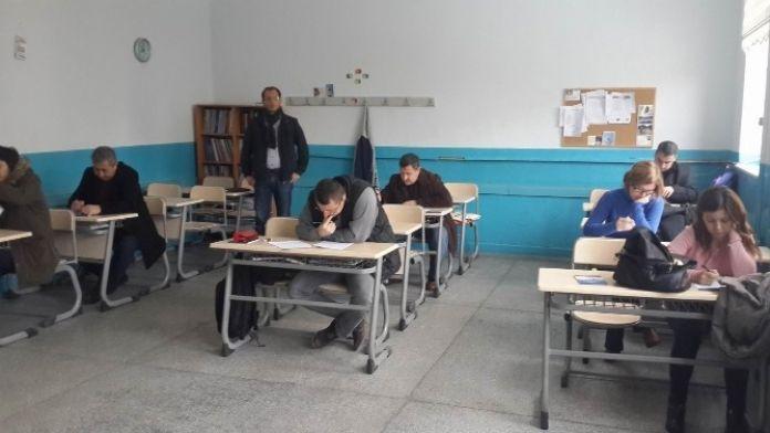 Eğitim Bir Sen Üyelerine Deneme Sınavı Yaptı