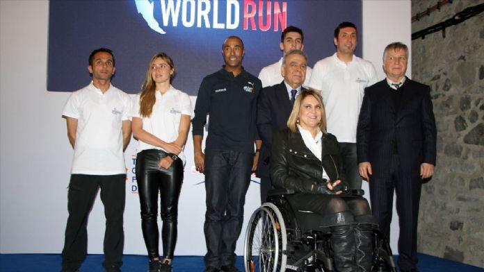 Tüm dünya aynı anda, koşamayanlar için koşacak