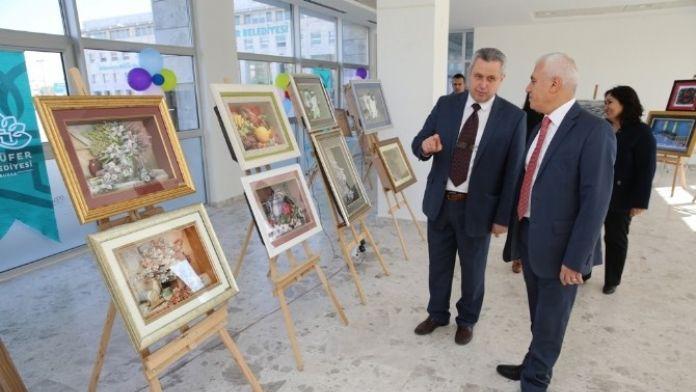 Başkan Bozbey Rölyef Sergisine Hayran Kaldı