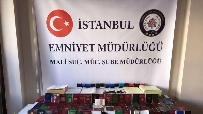 İstanbul'da sahteciliğe yönelik operasyon