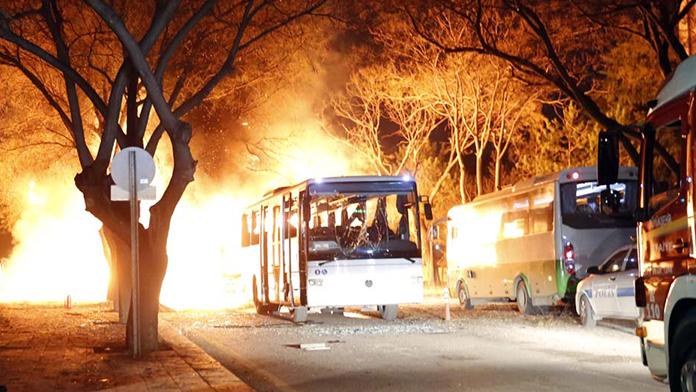 Ankara bombacısının taziye çadırında bulunanlara operasyon