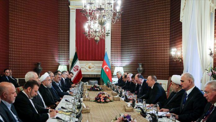 Azerbaycan Cumhurbaşkanı Aliyev, İran'da
