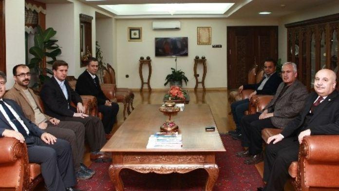 Ensar Vakfından Adıyaman Üniversitesi'ne Ziyaret