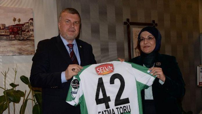 Başkan Toru, Torku Konyaspor'a Konuk Oldu