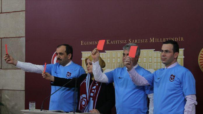AK Parti Trabzon milletvekillerinden TFF'ye 'kırmızı kart'