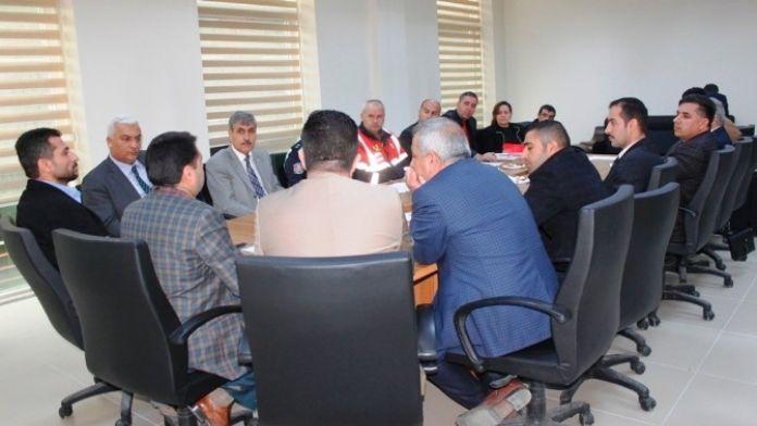 Van'da Okul Servisleri Ve Taşımalı Eğitim Güvenliği Toplantısı