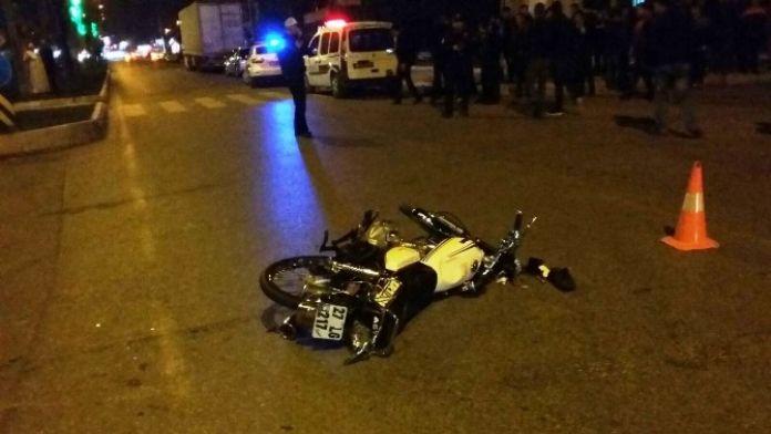 Tır'ın Altında Kalan Motosiklet Sürücüsü Hayatını Kaybetti