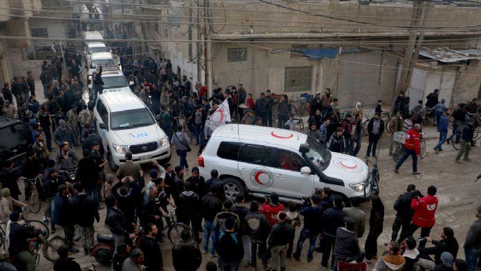 BM'den Suriye'de kuşatılmış bölgelere yardım