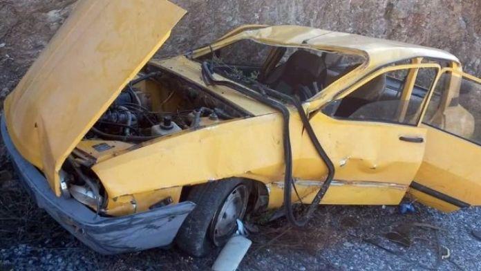 Şarampole Uçan Aracın Sürücüsü Öldü
