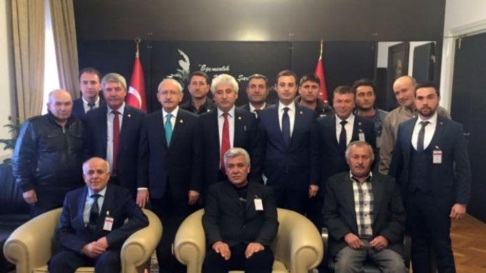 Süt Üreticileri Kılıçdaroğlu'nu Ziyaret Etti