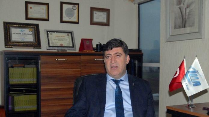 AK Parti'li Akar'dan İHA'ya Ziyaret