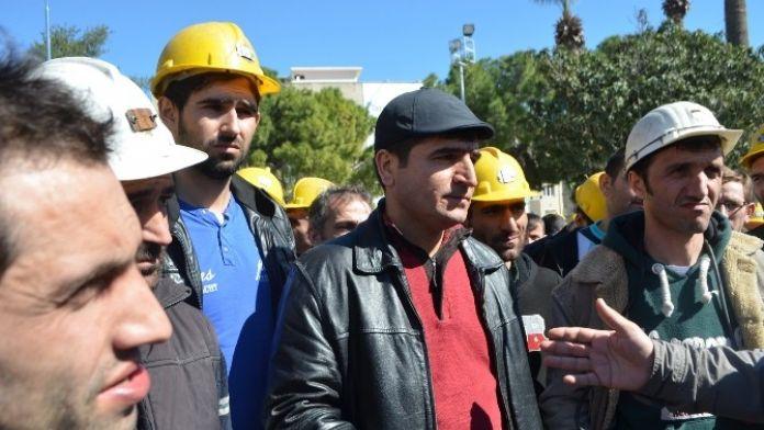 Sökeli Madenciler Evlerine Ekmek Götüremediklerini İddia Etti