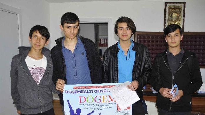 Döşemealtı 'Genç Vekiller' Projesine Büyük Katılım