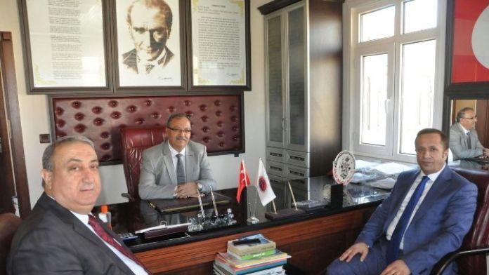 Başkan Toltar, Muhtarlık Ziyaretlerine Devam Etti