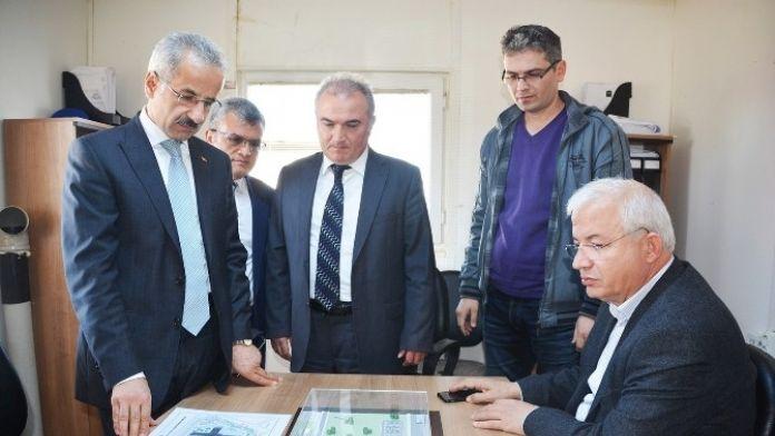 Torbalı'da Devlet Hastanesi'nin 'Yol Projesi' Tamam