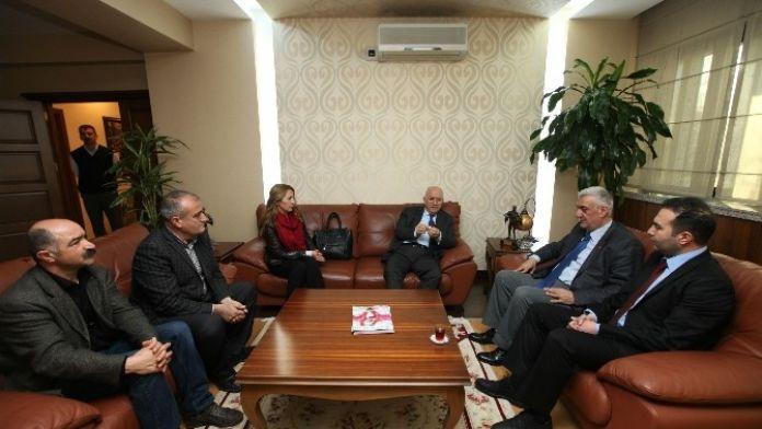Pir Sultan Abdal Derneği'nden Yaşar'a Ziyaret
