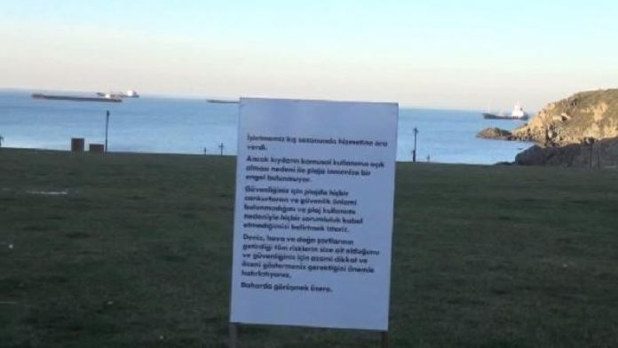 Ek fotoğraf / Dalya Plajı yasağı artık yok...