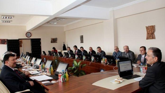 Unikop'un KMÜ Dönem Başkanlığındaki İlk Toplantısı Yapıldı