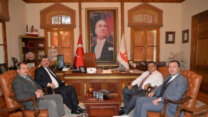 İş-kur Müdürü Tozan'dan Başkan Yağcı'ya Ziyaret