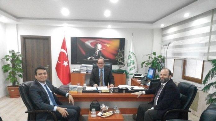 Vali Yardımcısı DSİ Bölge Müdürlüğünü Ziyaret Etti