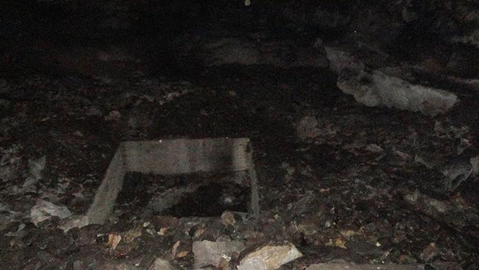 Mağarada baygın bulunan 2 işçi hastaneye kaldırıldı