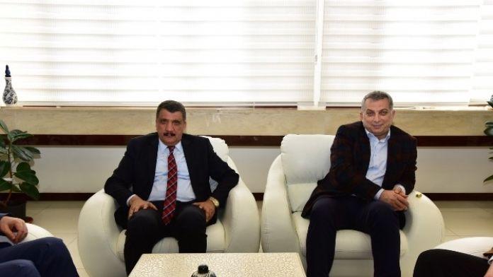 Milletvekili Külünk, Başkan Gürkan'ı Ziyaret Etti