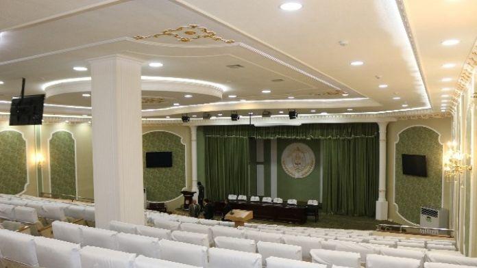 TİKA'dan Tacikistan İçişleri Bakanlığı'na Yeni Konferans Salonu